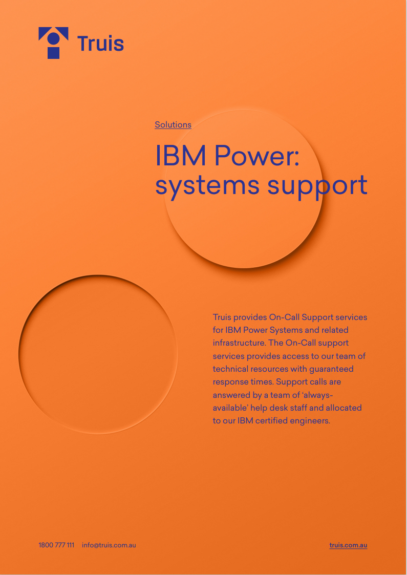 Need technical support for your IBM systems?