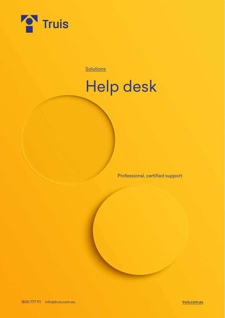 Need a 24x7 help desk for your staff and teams?